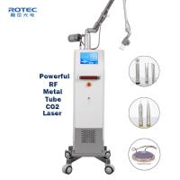 CO2 Fractional Laser Machine Marks Removal 110cm Working Radius Skin Renew Manufactures