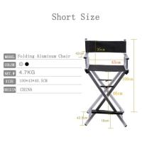 Modern Foldable Makeup Artist Chair Comfortable Style For Personal Manufactures