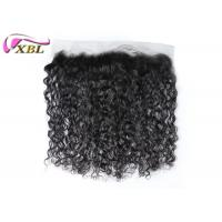 Raw Ear To Ear Lace Frontal Italian Curl Hair Frontal With Natural Hairline No Tangle Manufactures