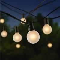 China 25ft Outdoor Decorative String Lighting G40 Led String Lights 20000 Hrs Life on sale