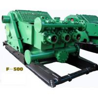 API Oilfield F-500 Horizontal 3 cylinder single acti piston Drilling Mud PUMP with reliable quality & competitive price Manufactures