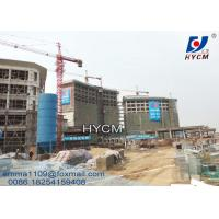 China QTZ 160 Self Erecting Tower Crane 60 Meter Electric Top Slewing on sale