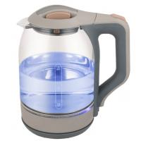 China Fast Boiling Clear Glass Electric Kettle Electric Tea Kettle 360 Degree Rotational Base on sale