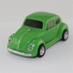 Plastic novelty usb flash drive car model . Green minicooper usb pendrives 8gb 32gb Manufactures