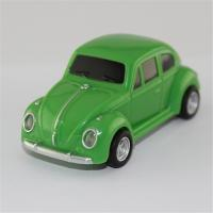 Plastic novelty usb flash drive car model . Green minicooper usb pendrives 8gb 32gb