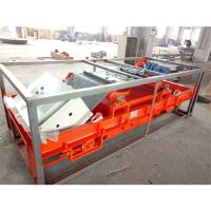 Automatic Suspended Magnetic Separator , Magnetic Drum Separator High Gradient Manufactures