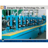 Buy cheap Galvanized Steel / Stainless Steel Coil Tube Mill Line With High Speed from wholesalers