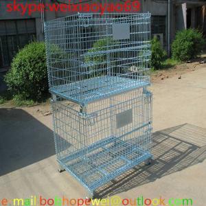 storage cages on wheels/pallet cage/security cage/wire security cage/industrial storage cabinets/metal storage bins Manufactures