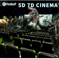 2300mm * 1900mm * 1720mm 5D Theater Equipment 13D Tilt Angle For Back / Forth Manufactures