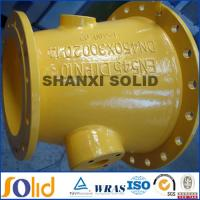 China ductile iron pipe fitting eccentric reducer on sale