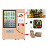 Winnsen Juice Salad Vending Machine , Healthy Food Vending Locker With Lift System Manufactures