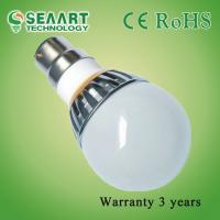 Energy Saving AC90-260V B22-4W Patent LED Ball Bulbs For Household Lighting Manufactures
