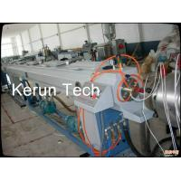 High Speed Large Diameter Pipe Extrusion Machine / HDPE Pipe Production Line Manufactures