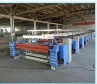 Industrial Weaving Loom / Air Jet Weaving Machine Double Nozzles Manufactures