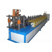 China Steel Stud Forming Machine , 0.3-1.3 mm Thickness Forming Equipment on sale