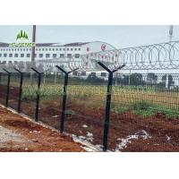 High Security Glavanized and PVC Powder Coated Welded Wire Mesh Fence50*200mm
