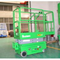 Portable Industrial Mini Self Propelled Lift For Painting, Cleaning Manufactures