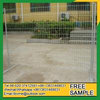 Armidale Outdoor galvanzied welded temporary fence for disaster relief sites Manufactures