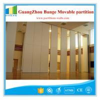 Multe Color folding wall panels Office Furniture Aluminum Partition 500 / 1230mm Manufactures