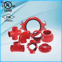Ductile Iron Grooved Pipe Fittings with UL FM Manufactures