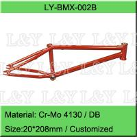 Double Butted Cr-Mo BMX Bike Frame Manufactures