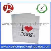 China Personalized Carrier PO Die Cut Handle Plastic Bags For Store on sale