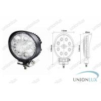 24w 12v Led Work Light For Truck Headlights , 6500k Outdoor Led Off Road Light 1560lm Manufactures