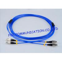 Fiber Optic Jumper Fiber Optic Patch Cord FC - FC Duplex G.657A Bend Insensitive Manufactures