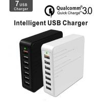 Quick Intelligent Multi Phone Charging Plug With Seven USB Ports Device Manufactures