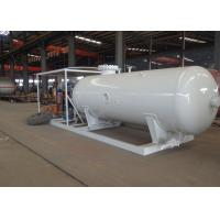 5000L 2.5tons LPG Propane Gas Storage Tanks For Mobile Gas Filling Plant Manufactures