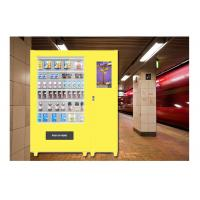 Customized Meal Food Vending Machine Lockers For Bus Station , Sandwich Vending Machine Manufactures