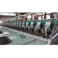 24 Heads Flat Embroidery Machine With Automatic Thread Trimmer Manufactures