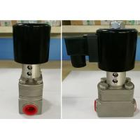 Low Temperature Rexroth Solenoid Valve Stainless Steel For Cryogenic Equipment Manufactures