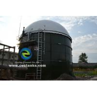 Glass Fused To Steel ( GFS ) Bolted Chemical Storage Tanks with 30 Years Service Life Manufactures