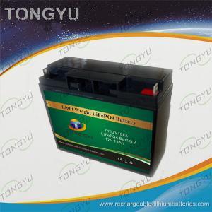 China Deep Cycle 12V 20Ah LiFePO4 Battery For Traffic Warning LED Lights Maintenance - Free on sale