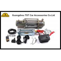 12000Lbs Heavy Duty Winch Off Road Recovery Winch 4X4 Recovery Kit