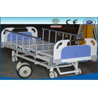 China Mobile Medical Beds , ICU Patient Beds With PP / ABS Head And Foot Board on sale