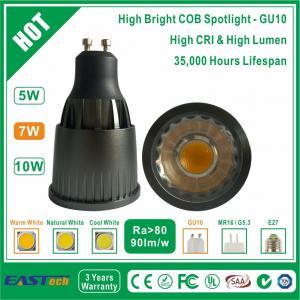7W GU10 COB Spotlight (High Bright) - Warm White Manufactures