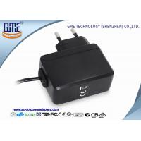 China PC Housing EU 5V 1A AC DC Power Adapter for Microphone , 1.5M Cable Length wholesale