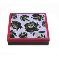 China Wholesale Cookie Gift Tin Cans with Lid on sale