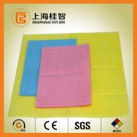 Multi Purpose Non Woven Cleaning Cloth Nonwoven Wipes Super Absorbent Manufactures