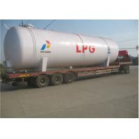 China 100CBM LPG Storage Tanks 50 Tons LPG Cooking Gas Tank ISO / ASME Approved on sale
