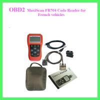 MaxiScan FR704 Code Reader for French vehicles Manufactures