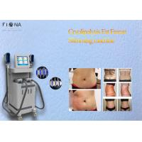 4 Cryo Handle Fat Freeze System Cryolipolysis Vacuum Machine 2500W Power Manufactures