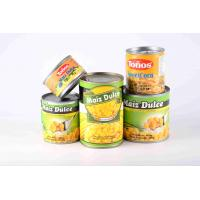 China Non GMO Yellow Canned Sweet Corn Rich Starch With Special Fragrance on sale