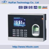 Spanish/ English Fingerprint, RFID Card Time Clock with Free Software (HF-T8) Manufactures