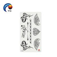 Temporary Tattoo Waterproof Arm Leg Art Stickers Removable Birds and Flowers Tattoo Design Manufactures
