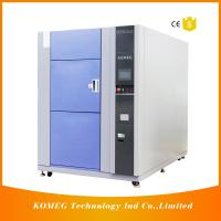 PCB and LED Resistance Cold Heat Shock Test Chamber Specifications Touch Screen Control Manufactures