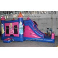 Disney princess combo , inflatable maze,cheap inflatables for sale,qile inflatable combo Manufactures