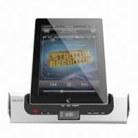 Hi-fi Charger Speaker for iPhone/iPad, with LCD Data and Alarm Clock Function Manufactures